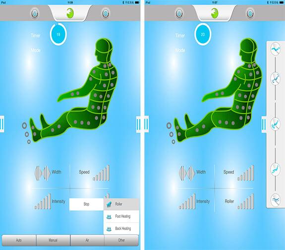 Sensai 4D массажное кресло с Bluetooth и USB